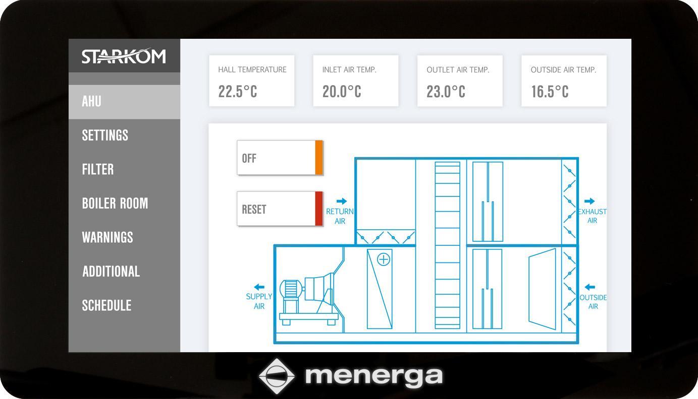 Menerga-Web Building Management System – Web Server